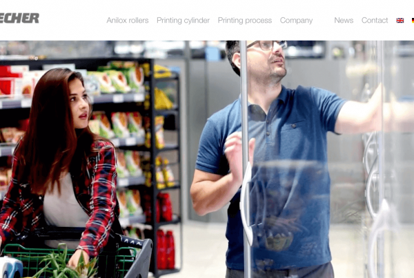 New Website der Zecher GmbH