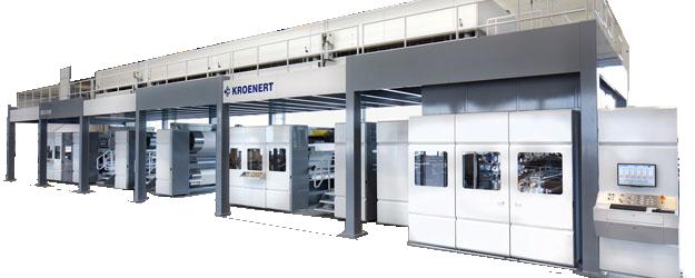 Kronert Oberflächenbeschichtungsmaschine